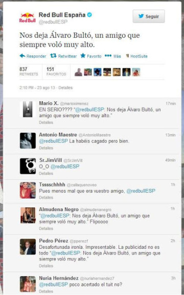 fail tweet red bull